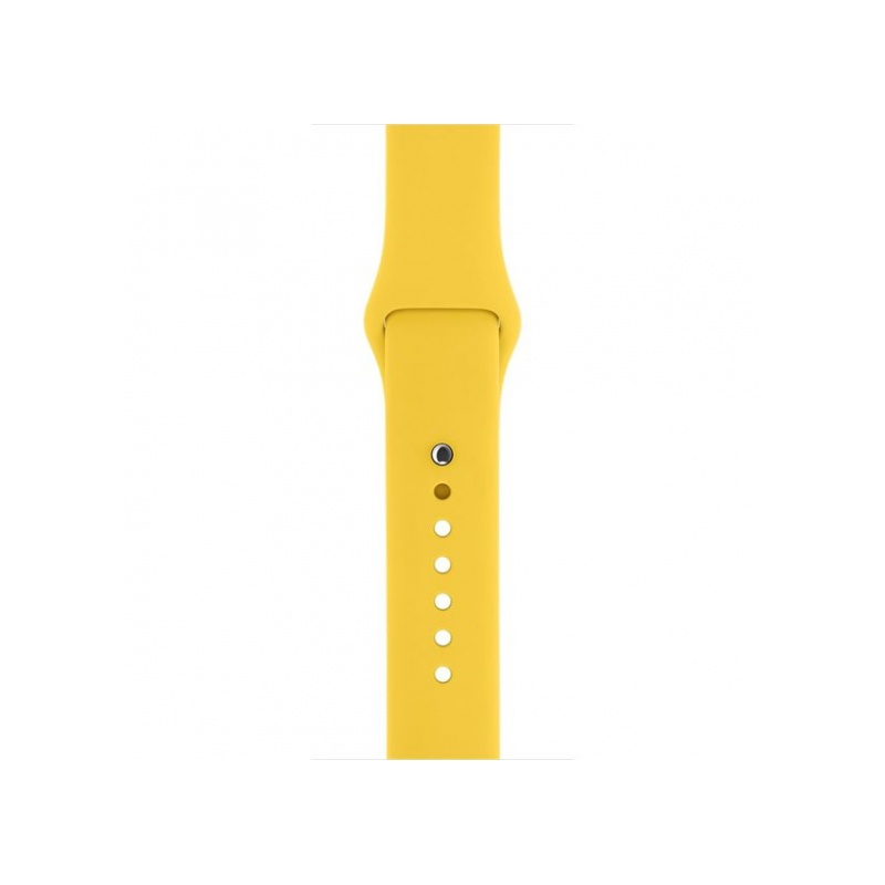 Silicon Sport Band For Apple Watch 38mm Yellow