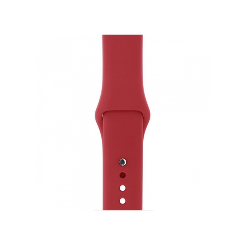 Silicon Sport Band For Apple Watch 38mm Red