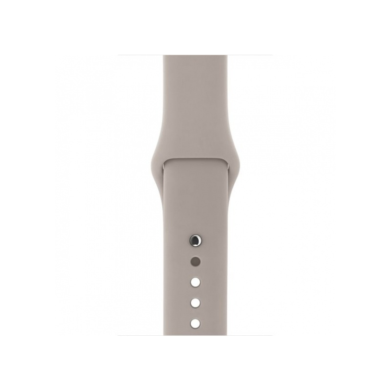 Silicon Sport Band For Apple Watch 38mm Grey