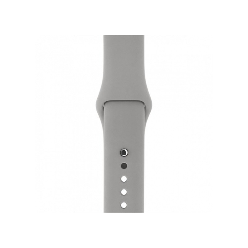 Silicon Sport Band For Apple Watch 42mm Dark Grey