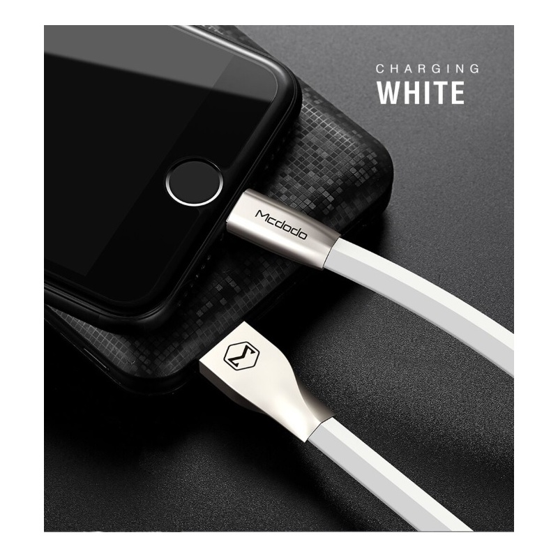 Mcdodo Zinc Alloy Seires Lightning Cable 1m White