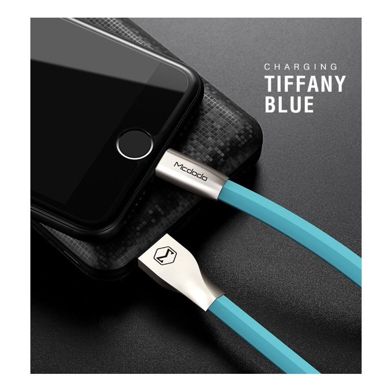 Mcdodo Zinc Alloy Seires Lightning Cable 1m Blue