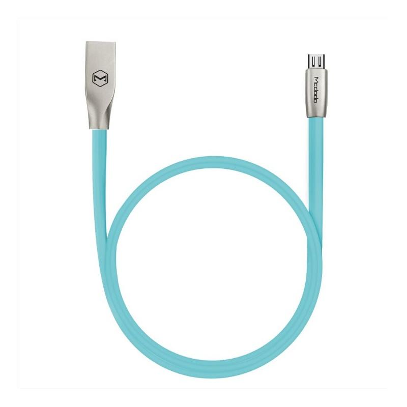 Mcdodo Zinc Alloy Seires Micro USB Cable 1m Blue