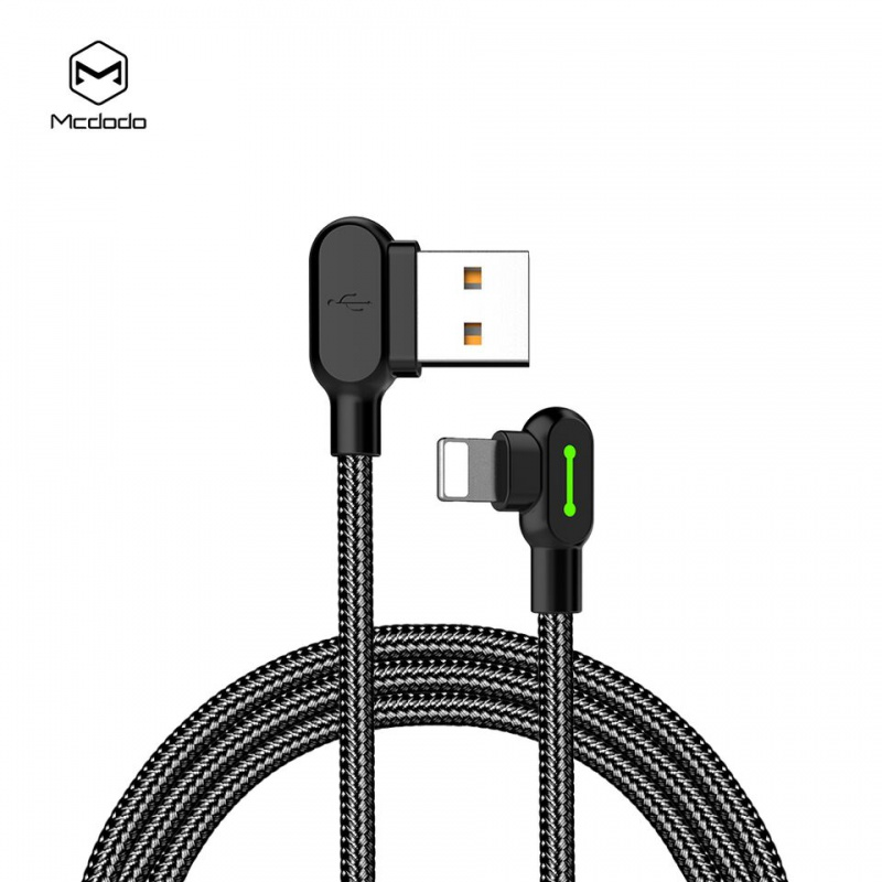 Mcdodo Buttom Series Lightning Cable 0.5m Black