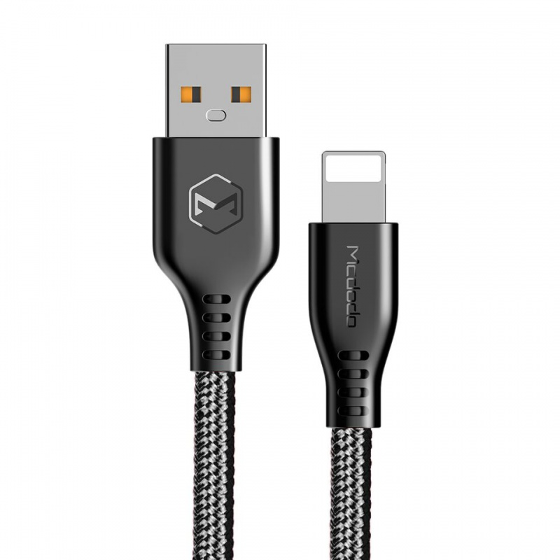 Mcdodo Warrior series lightning cable 3,0m Black