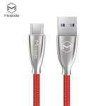 Mcdodo Excellence Series 5A Type-C Cable (2 m) Red