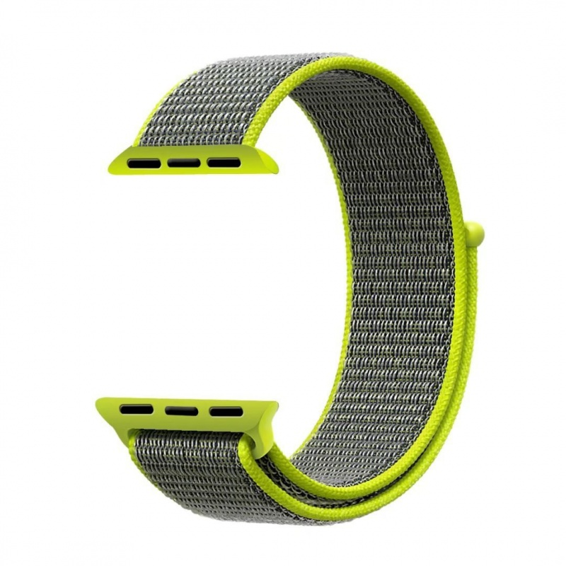 Loopback Nylon Band For Apple Watch 38mm Yellow