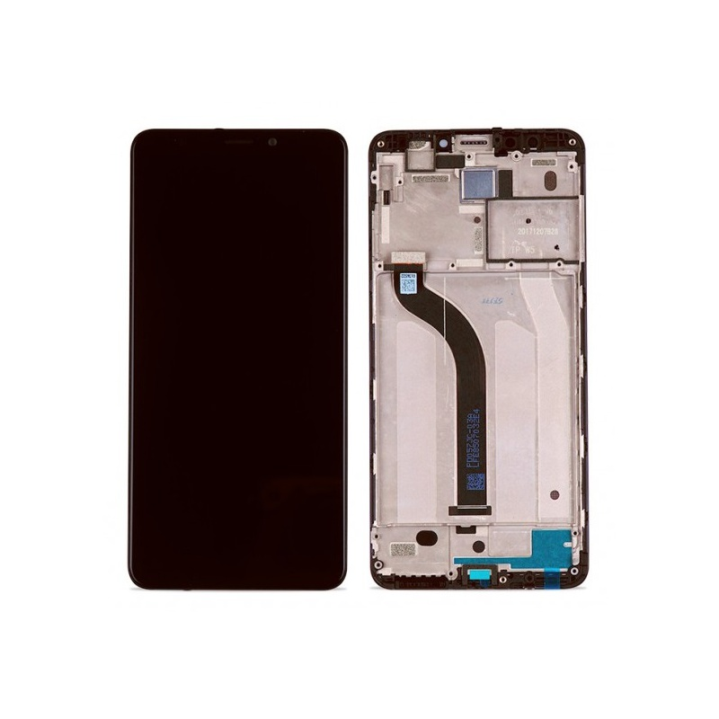 Xiaomi Redmi 5 LCD + Touch + (Assembled) Frame Black (OEM)
