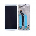 Xiaomi Redmi 5 Plus LCD + Touch + Frame (Assembled) - White (OEM)