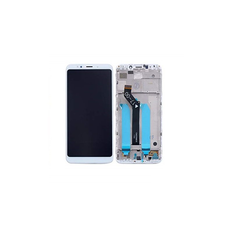 Xiaomi Redmi 5 Plus LCD + Touch + Frame (Assembled) White (OEM)