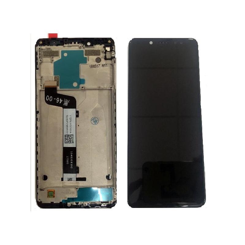Xiaomi Redmi Note 5 LCD + Touch + (Assembled) Frame Black (OEM)
