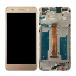 LCD + Touch + Frame (Assembled) pro Huawei Y6 II - Gold (OEM)