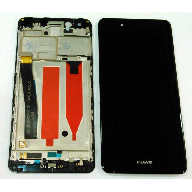 Huawei Nova Smart LCD + Touch + Frame (Assembled) Black