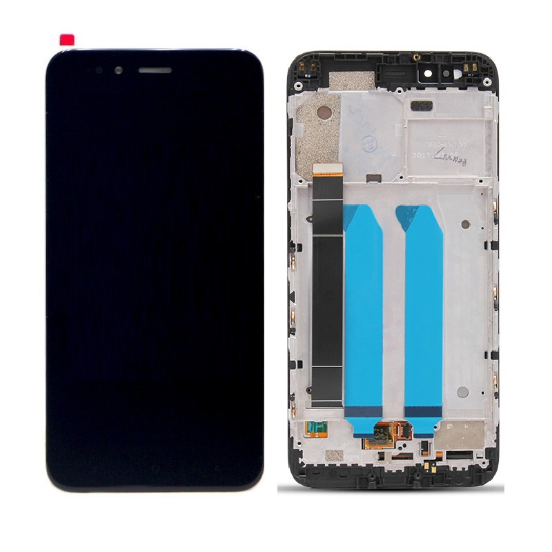 Xiaomi Mi A1 LCD + Touch + (Assembled) Frame Black (OEM)