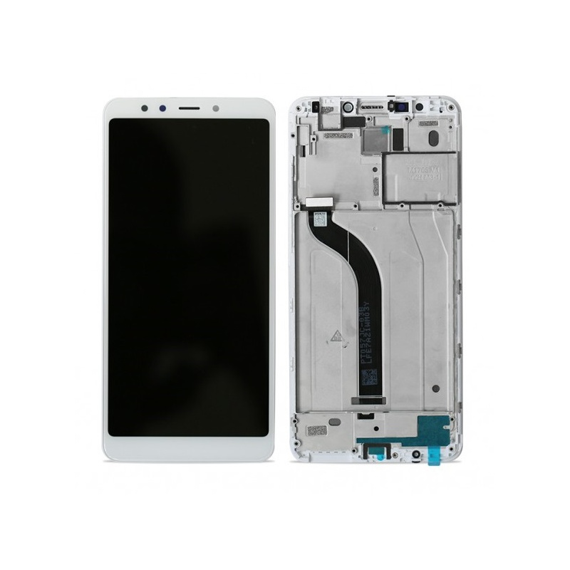 Xiaomi Redmi 5 LCD + Touch + (Assembled) Frame White (OEM)