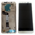 LCD + Touch + Frame (Assembled) pro Xiaomi Redmi Note 5 White (OEM)