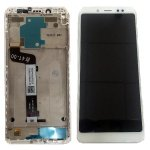 Xiaomi Redmi Note 5 LCD + Touch + Frame (Assembled) - White (OEM)