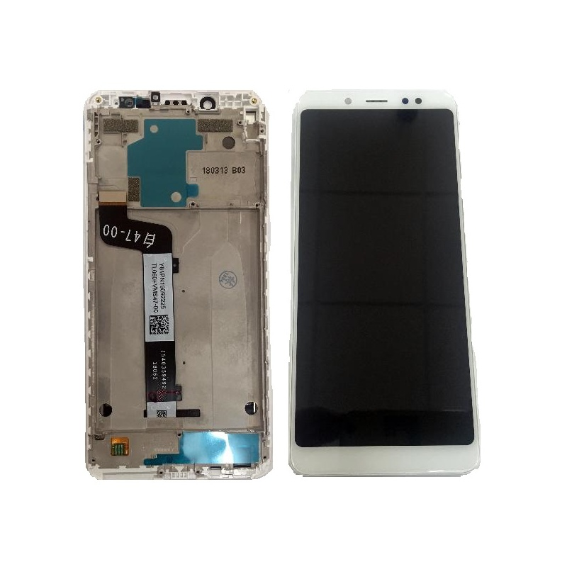 Xiaomi Redmi Note 5 LCD + Touch + (Assembled) Frame White (OEM)