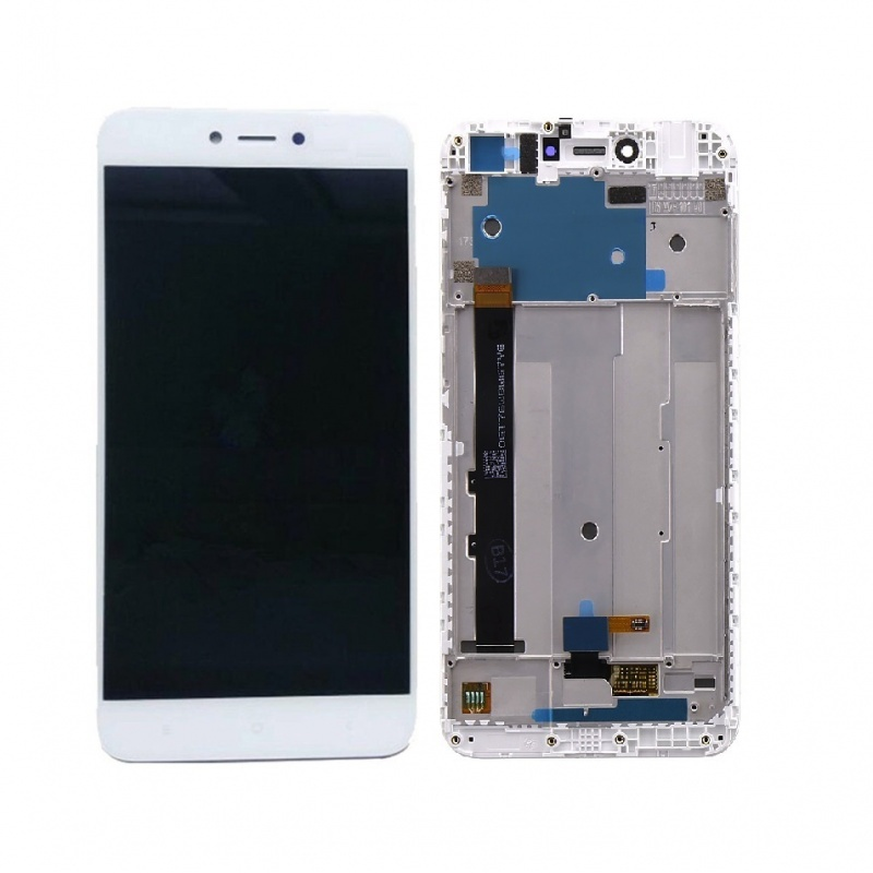 Xiaomi Redmi Note 5A LCD + Touch + (Assembled) Frame White (OEM)
