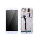 Xiaomi Redmi 5A LCD + Touch + Frame (Assembled) - White (OEM)