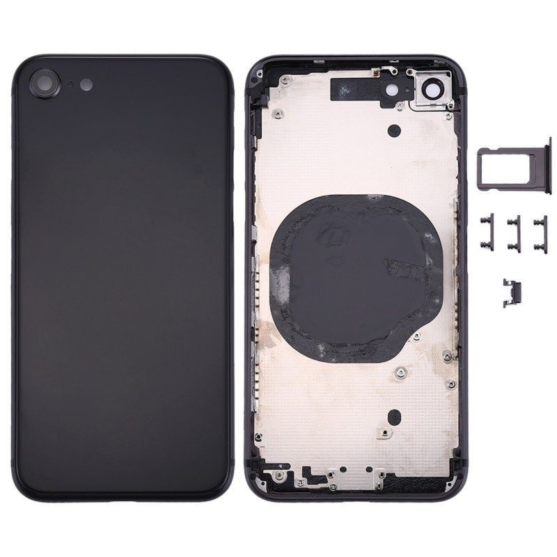 Backcover Assembled Black pro Apple iPhone 8
