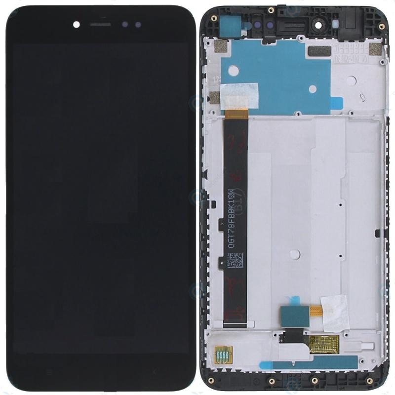 Xiaomi Redmi Note 5A Prime LCD + Touch + (Assembled) Frame Black (OEM)