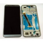 LCD + Touch + Frame (Assembled) pro Huawei Honor 9 Lite Grey (OEM)