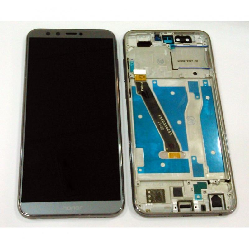 Huawei Honor 9 Lite LCD + Touch + Frame (Assembled) Gray