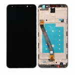 LCD + Touch + Frame (Assembled) pro Huawei Mate 10 Lite - Black (OEM)