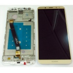 LCD + Touch + Frame (Assembled) pro Huawei Mate 10 Lite Gold (OEM)