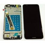 LCD + Touch + Frame (Assembled) pro Huawei P Smart - Black (OEM)