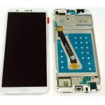 LCD + Touch + Frame (Assembled) pro Huawei P Smart - White (OEM)