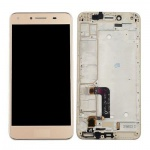 LCD + Touch + Frame (Assembled) pro Huawei Y5 II - Gold (OEM)
