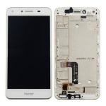 LCD + Touch + Frame (Assembled) pro Huawei Y5 II - White (OEM)