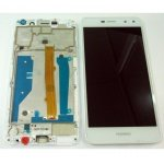 LCD + Touch + Frame (Assembled) pro Huawei Y6 (2017) - White (OEM)