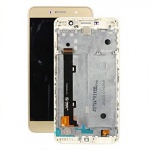 LCD + Touch + Frame (Assembled) pro Huawei Y6 PRO Gold (OEM)