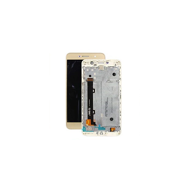 Huawei Y6 Pro LCD + Touch + Frame (Assembled) Gold