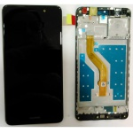 LCD + Touch + Frame (Assembled) pro Huawei Y7 Black (OEM)