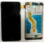 LCD + Touch + Frame (Assembled) pro Huawei Y7 - Black (OEM)