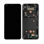 LCD + Touch + Frame (Assembled) pro LG G6 (H870) Black (OEM)