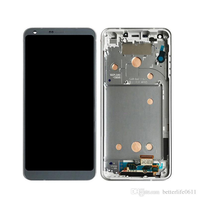 LG G6 (H870) LCD + Touch + Frame (assembled) Silver