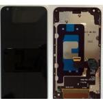 LCD + Touch + Frame (Assembled) pro LG Q6 (M700n) Black (OEM)