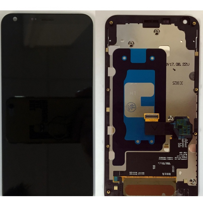 LG Q6 (M700n) LCD + Touch + Frame (assembled) Black