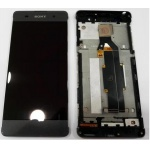 LCD + Touch + Frame (Assembled) pro Sony Xperia XA Black (OEM)