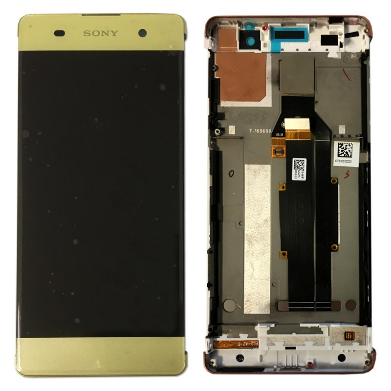 Sony Xperia XA LCD + Touch + Frame (Assembled) Lime Gold