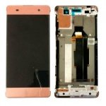 LCD + Touch + Frame (Assembled) pro Sony Xperia XA Rose Gold (OEM)