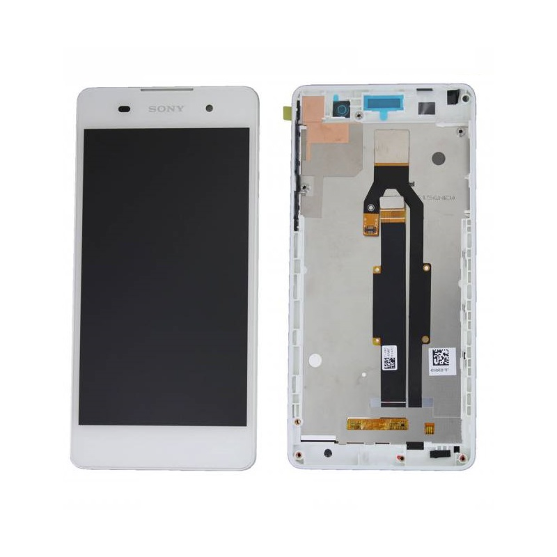 Sony Xperia E5 LCD + Touch + Frame (Assembled) White