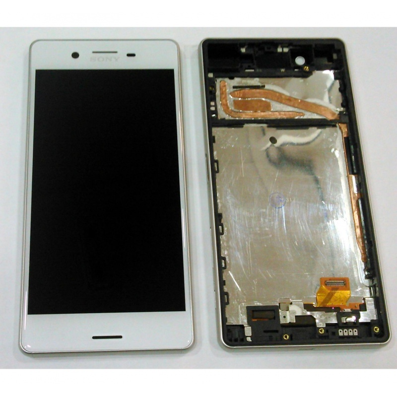 Sony Xperia X LCD + Touch + Frame (Assembled) White