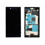 LCD + Touch + Frame (Assembled) pro Sony Xperia X Compact Black (OEM)