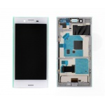 LCD + Touch + Frame (Assembled) pro Sony Xperia X Compact White (OEM)